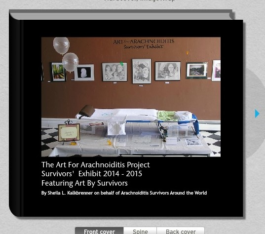 Preview the Art By Arachnoiditis Survivors Coffee Table Art Book