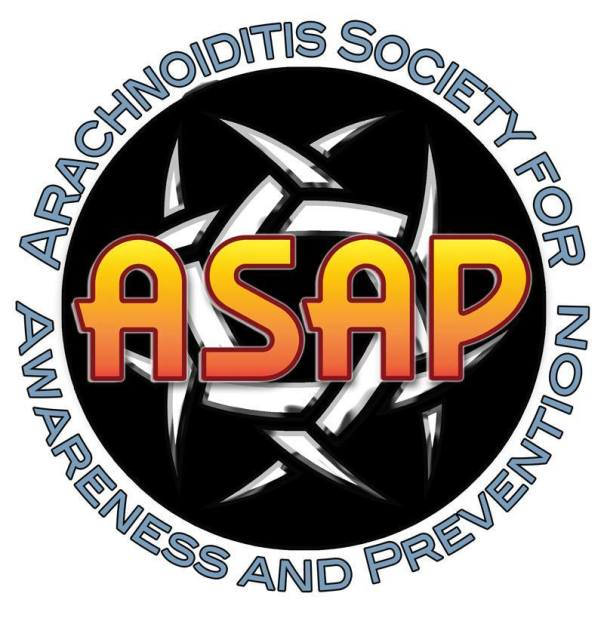Logo~Arachnoiditis Society for Awareness and Prevention