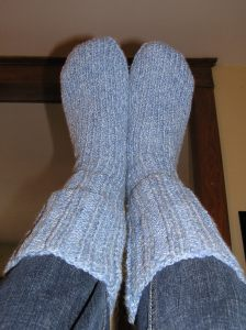 Inversion and Warm Fuzzy Socks = Focus
