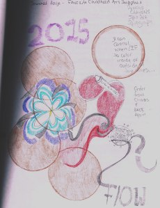 My flash back journal page