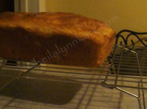 digital photo of home made bread